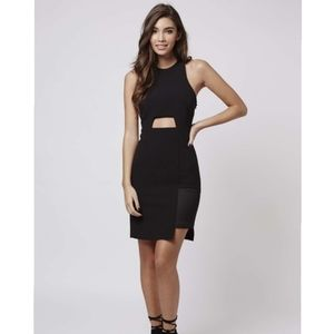 Kendall + Kylie Black Cut Out Dress